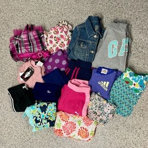 6/7 girls lot of 16 clothing items